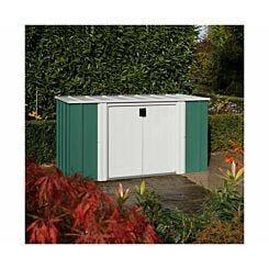 Rowlinson Metal Storette Garden Storage Unit 6 x 3ft