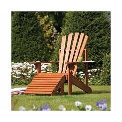 Rowlinson Hardwood Adirondack Garden Seat