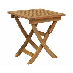 Charles Bentley Wooden Folding Side Table Small