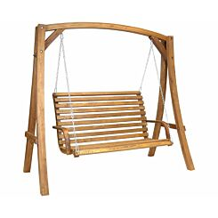 Charles Bentley Wooden Garden Swing Seat