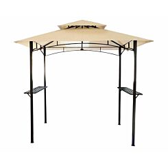 Charles Bentley Steel Gazebo Canopy 8ft x 5ft