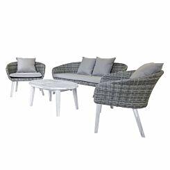 Charles Bentley Madrid Rattan Garden Lounge Set