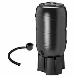 Charles Bentley 210 Litre Round Garden Water Butt Set Including Tap and Filler Kit
