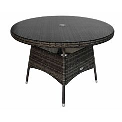 Charles Bentley Rattan Dining Table 4 Seater