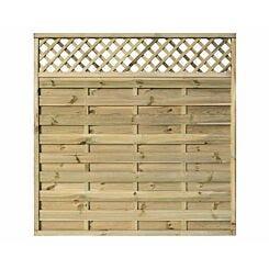 Rowlinson Halkin Garden Screen Fencing 6ft x 6ft Pack of 3