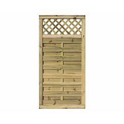 Rowlinson Halkin Garden Screen Fencing or Gate 3ft x 6ft Pack of 3