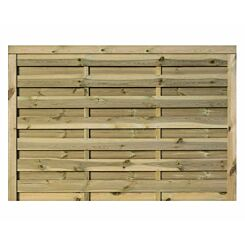 Rowlinson Gresty Garden Screen Fencing 6ft x 4ft Pack of 3