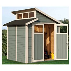 Rowlinson Pre Painted Skylight Shed 7ft x 7ft