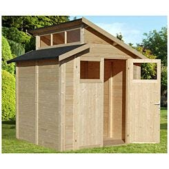 Rowlinson Skylight Shed 7ft x 7ft
