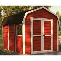 Rowlinson 11ft x 8ft Pre Painted Dutch Barn