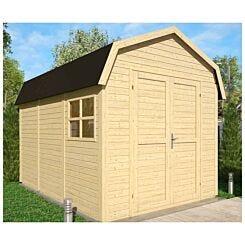 Rowlinson 11ft x 8ft Unpainted Dutch Barn