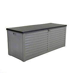 Charles Bentley Plastic Storage Box 390L Grey