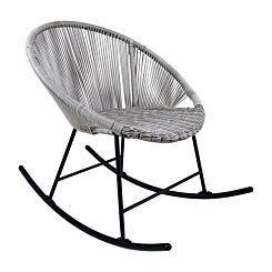 Charles Bentley Bali Rocking Chair Grey