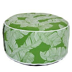 Charles Bentley Inflatable Foot Stool Assorted Green