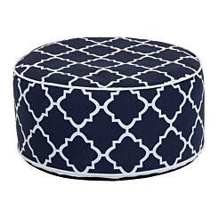 Charles Bentley Inflatable Foot Stool Assorted Navy Blue