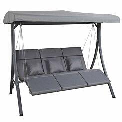 Charles Bentley 3 Seater Modern Swing Chair