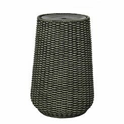 Charles Bentley Rattan Water Feature with LED Light