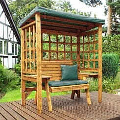 Charles Taylor Wentworth 2 Seat Arbour with Cover