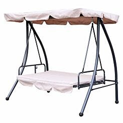 Alfresco 2-in-1 Swing Seat Daybed with Canopy