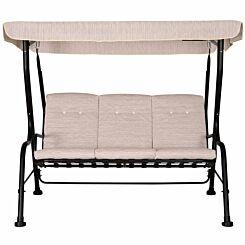 Alfresco 3 Seater Metal Porch Swing Seat