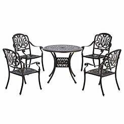 Alfresco Cast Aluminium Garden Dining Set