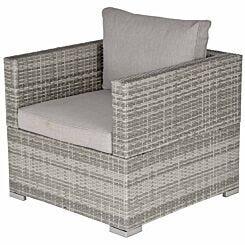 Alfresco Single Rattan Garden Sofa Chair