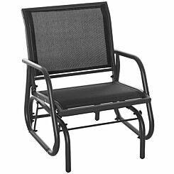 Alfresco Rocking Mesh Garden Chair
