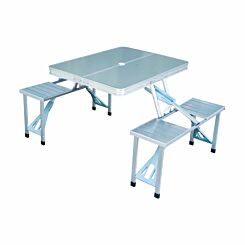 Alfresco Folding Camping Picnic Table and Chairs