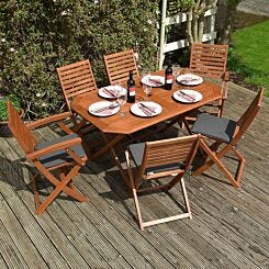 Rowlinson Plumley Six Seater Dining Set