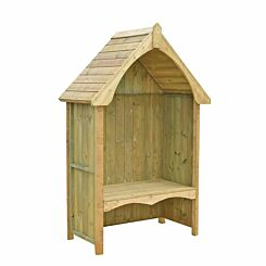 Shire FSC Balsam Pressure Treated Garden Arbour with Bench