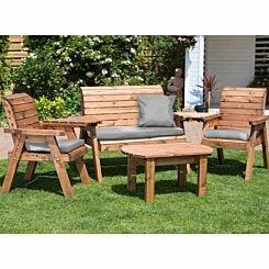 Charles Taylor Four Seater Garden Furniture Set Grey