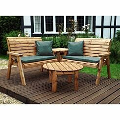 Charles Taylor Four Seater Corner Furniture Set with Cushions