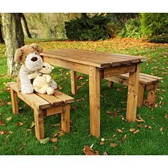 Charles Taylor Kids Table and Bench Set