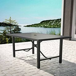 Capitol Hill Steel Patio Dining Table
