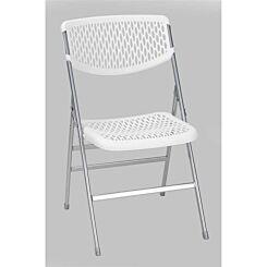 Resin Mesh Folding Chair Set of 4