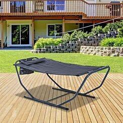 Alfresco Garden Hammock Sun Lounger with Frame
