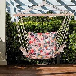 Alfresco Garden Hammock Swinging Chair 100 x 106cm