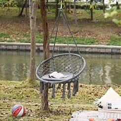 Alfresco Macrame Hanging Chair Swing