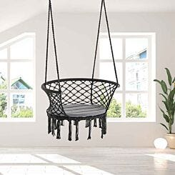 Alfresco Hammock Chair Cotton Rope Porch