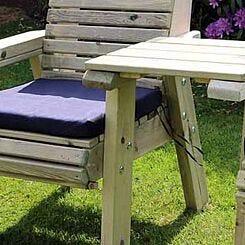 Hawthorn Single Navy Cushion
