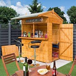 Rowlinson Wooden Garden Bar 6ft x 6ft