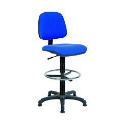 Teknik Office Deluxe Draughter Ergo Blaster Operator Chair Blue