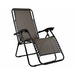Charles Bentley Zero Gravity Reclining Sun Lounger