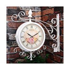 Charles Bentley Vintage Metal Bracket Wall Clock