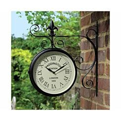 Charles Bentley Paddington Metal Bracket Wall Clock