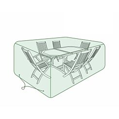 Charles Bentley 6-8 Seater Oval Set Tarpaulin Garden Furniture Cover