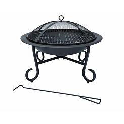 Charles Bentley Round Open Bowl Fire Pit