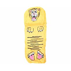 Childrens Jungle Animal Sleeping Bag Tiger