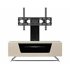 Alphason Chromium 1000 TV Cabinet with Bracket Ivory