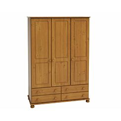 Steens Richmond 3 Door Over 4 Drawer Wardrobe
